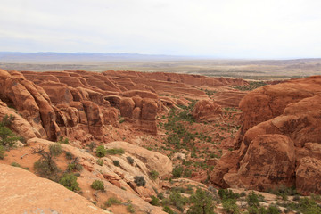 panorama point, Arch national park, Arizona