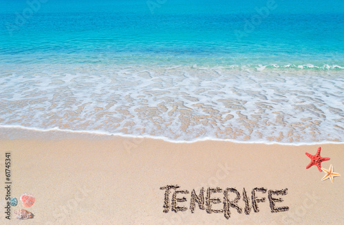 tenerife writing