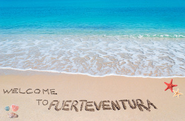 welcome to fuerteventura