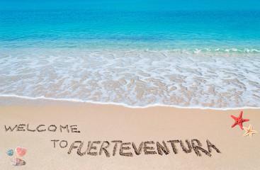 welcome to fuerteventura
