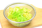 The cabbage which was boiled