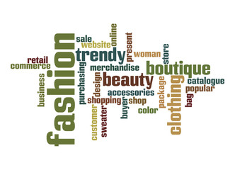 Fashion Industry word cloud