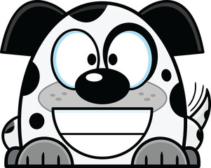 Cartoon Dalmatian Puppy