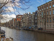 Amsterdam, The Netherlands. Canal in the central part of the cit