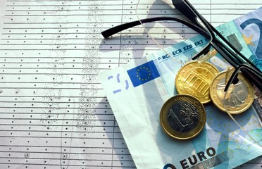 Euro and Glasses.