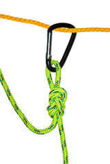 The flemish knot and carabiner