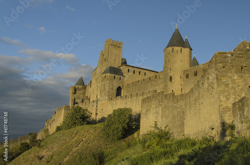 The Cite de Carcassonne
