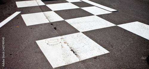 Foto op Plexiglas F1 Car race asphalt