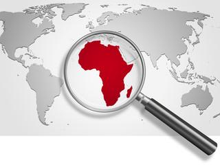 Landkarte *** Afrika