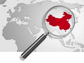 Landkarte *** China