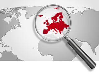 Landkarte *** Europa