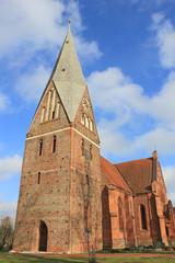 Neugotische Backsteinkirche Dietrichshagen (Mecklenburg-V.)