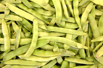 pods of green beans