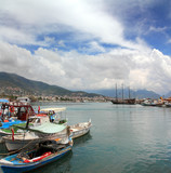 bay with boats in Alanya