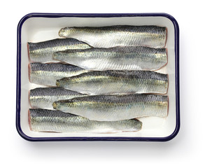 cooking process of pickled herring