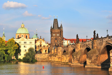 Prague. Old Town at sunset