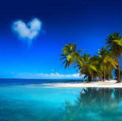 Art  beautifu tropical seascape
