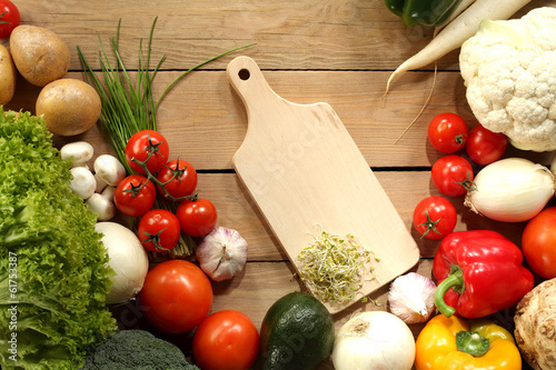 canvas print picture vegetables