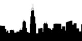 Chicago Skyline- vector