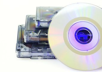 Tapes and CD isolated