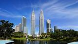 Fototapety Petronas Twin Towers at Kuala Lumpur, Malaysia.