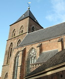 Historic Church from 1639 in Kampen.The Netherlands
