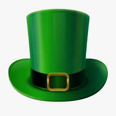 Green leprechaun hat