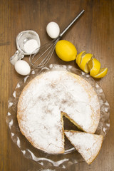 Lemon Cake- four