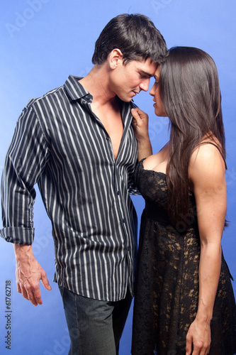 sexy young hot couple