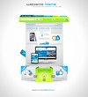 Website template for corporate business and cloud purposes.