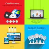 Infographic template collections with a lot of different designs