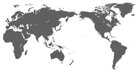 世界地図 - world map -