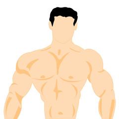 Trunk men athlete