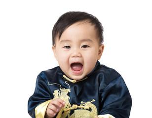 Chinese baby screaming