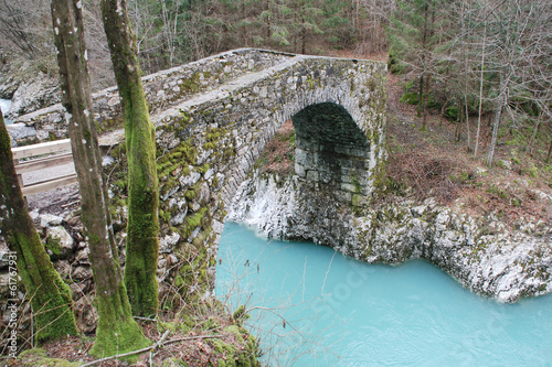 Napoleon Bridge in Slovenia