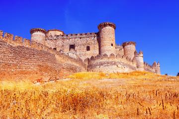 Gothic-Mudejar castle in Belmonte