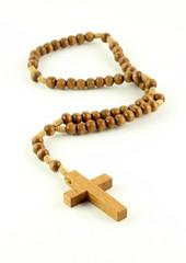 Rosario di legno