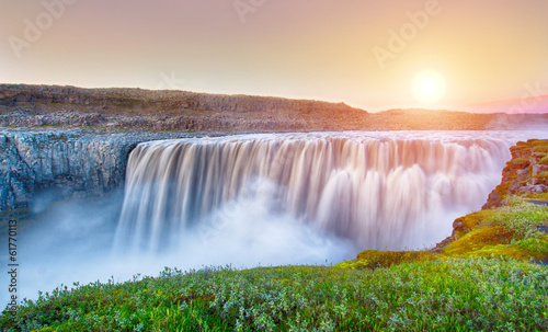 canvas print picture Dettifoss