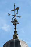 A Classic Rooftop Metal Vintage Weather Vane.