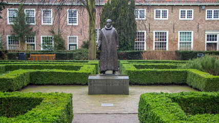 Statue of William of Orange of the Netherlands Delft