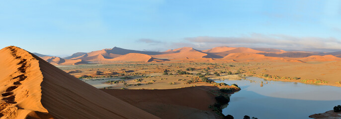 Deadvlei and  Sossusvlei panorama 4