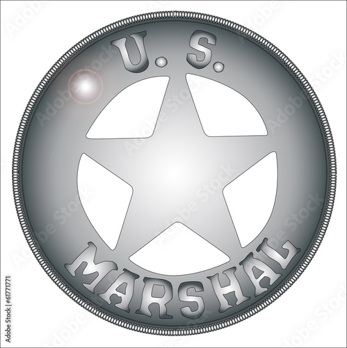 US Marshal Badge