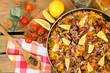 Paella and seasonings