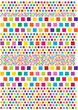 color vector squares background