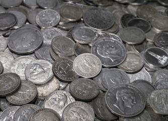 antike alte silbermünzen, silver coin