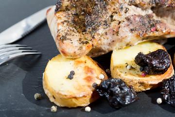Pork sirloin roast