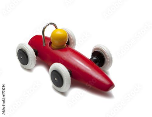 Plagát voiture de courses f1 en jouet