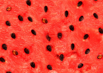 Red texture of watermelon