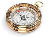 Gold compass - 61777582