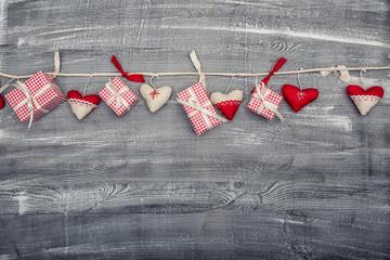 Liebe an der Leine Herzen Geschenke